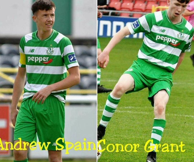 Congratulations to Andrew Spain formerly of Moone Celtic FC