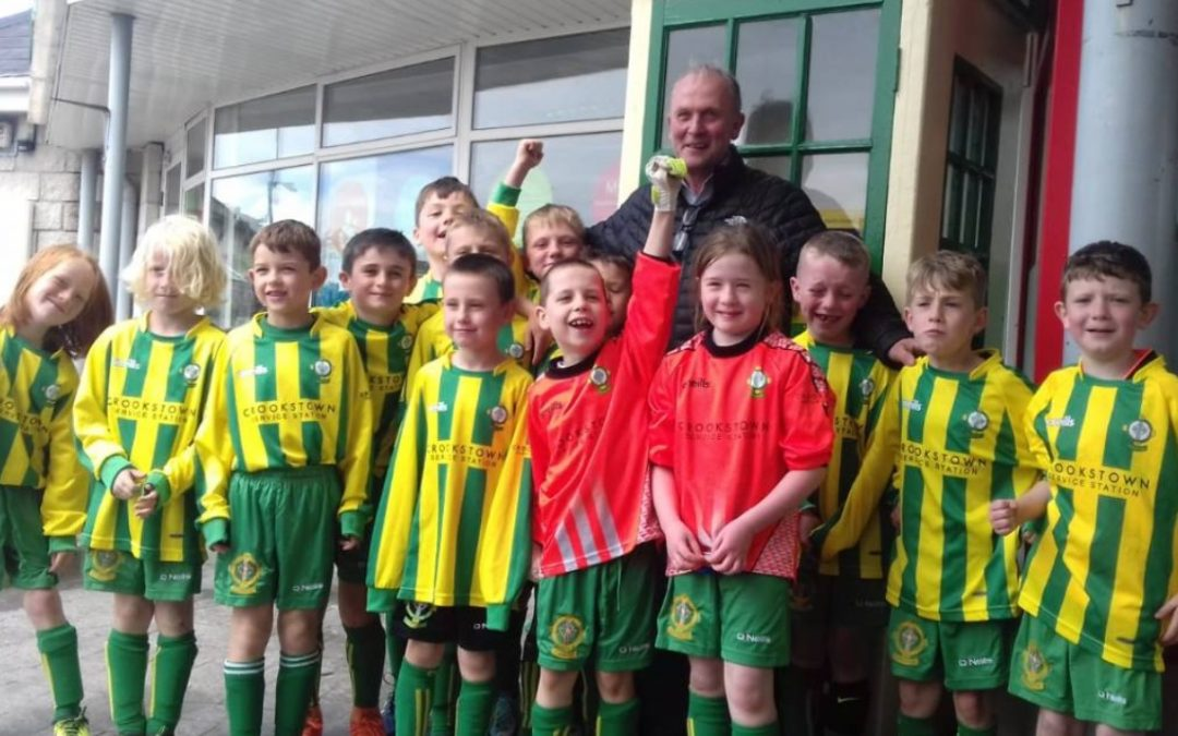 O'Reilly's Garage sponsors new under 8 kit